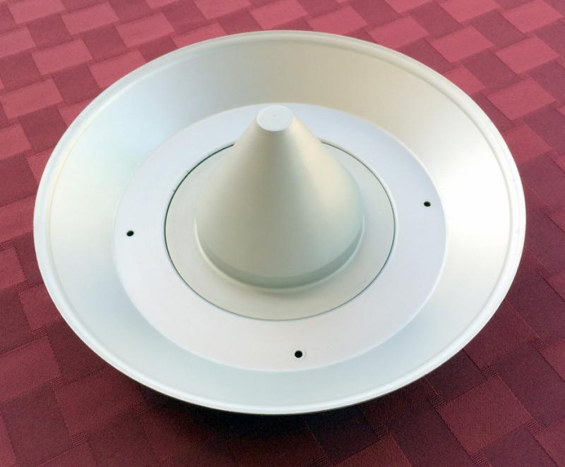 Top Plate With Wind Deflector Cone