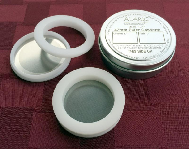 47mm Filter Cassette for PM2.5